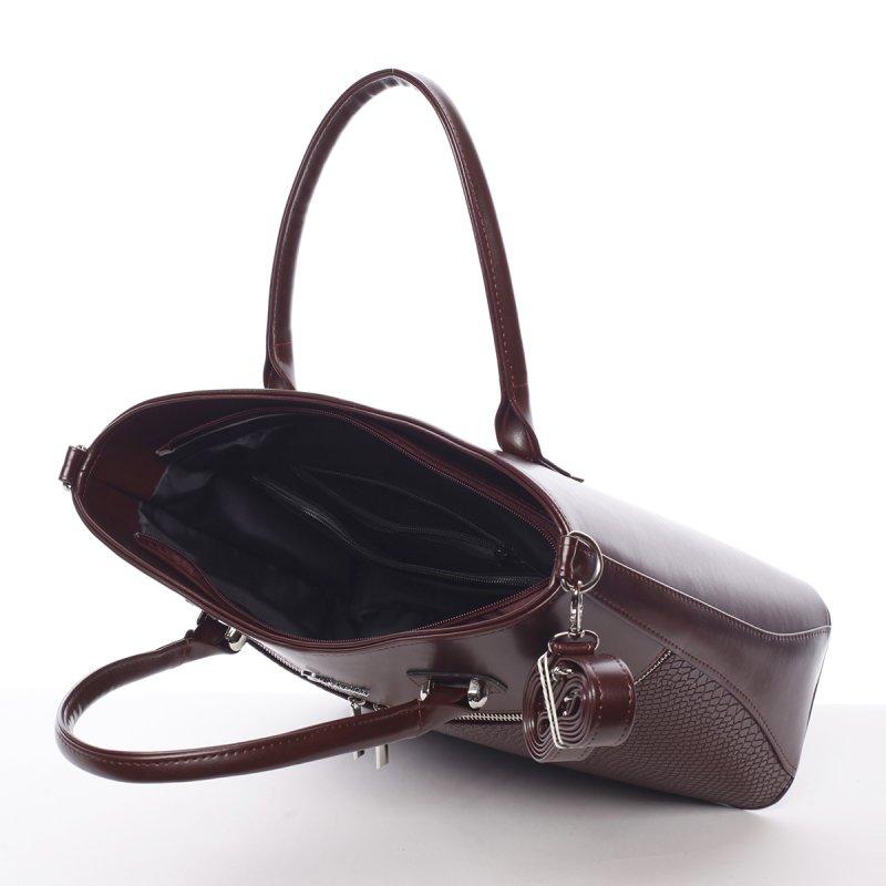 Lehká dámská kabelka Zirvanie, vínově červená