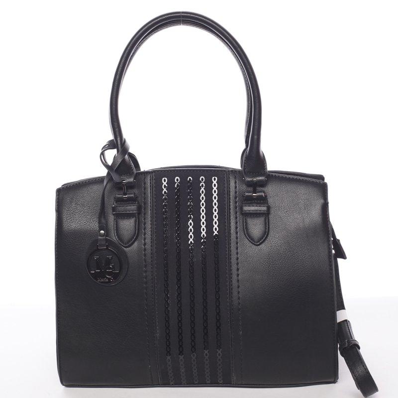 Pevná dámská kabelka Karin, černá