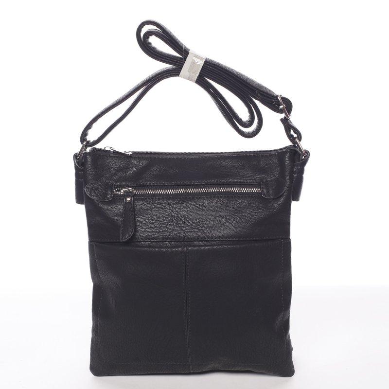 Praktická dámská crossbody kabelka Karol, černá