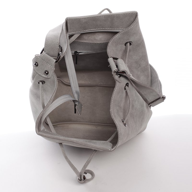 Elegantní dámská kabelka přes rameno Naomi, šedá