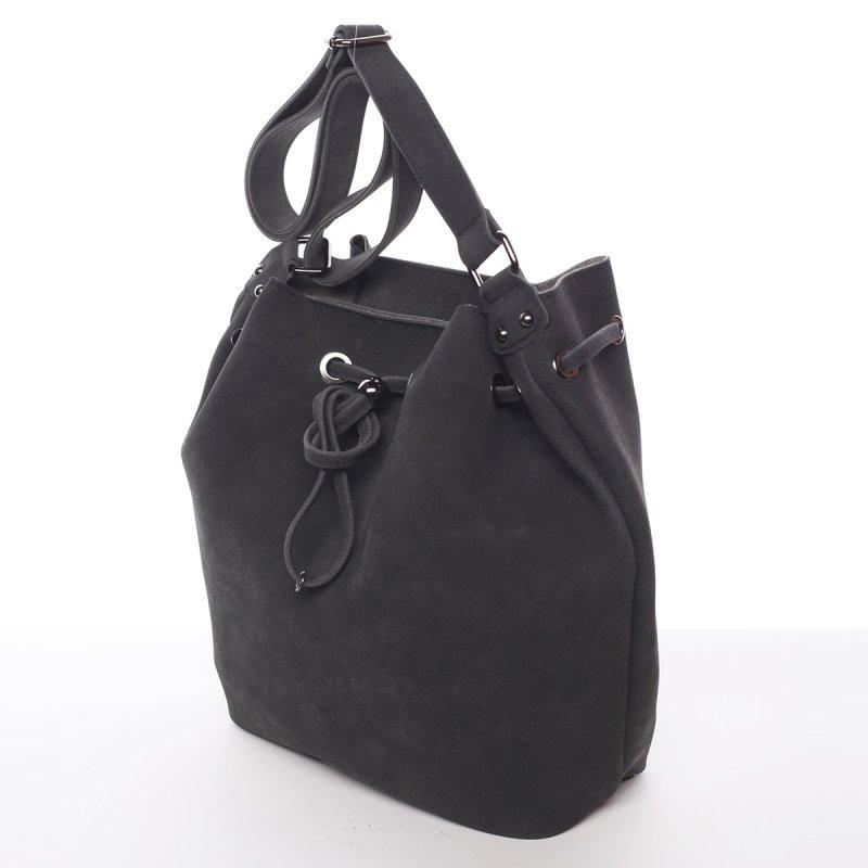 Elegantní dámská kabelka přes rameno Naomi, černá