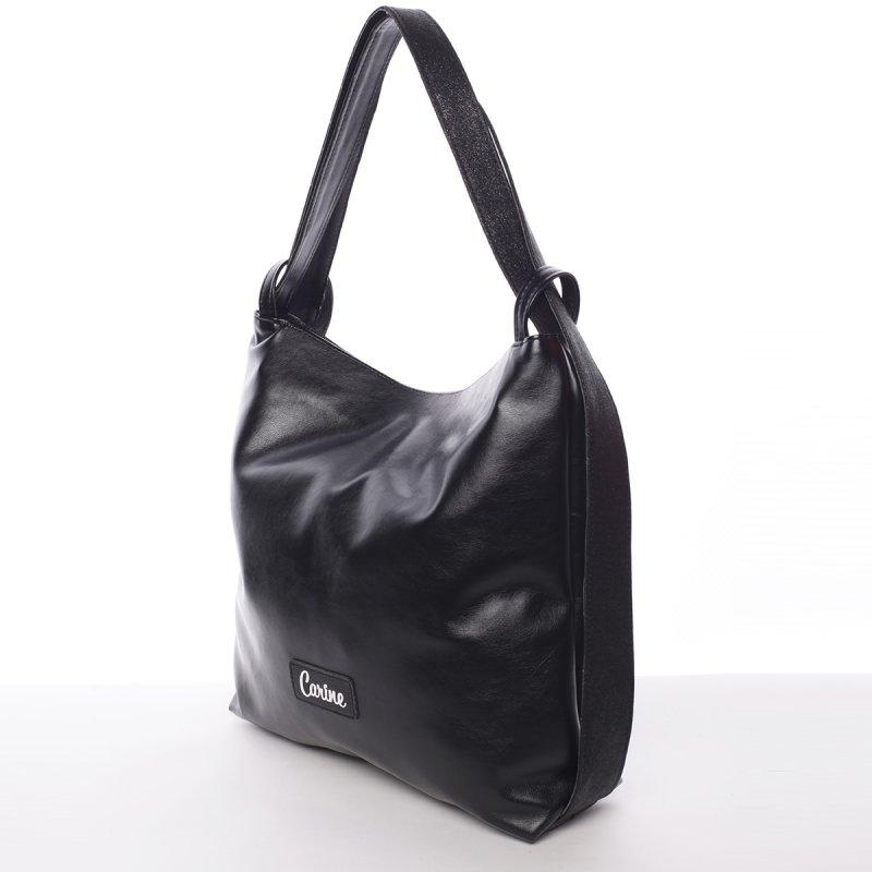 Atraktivní dámská kabelka Alexie, černá