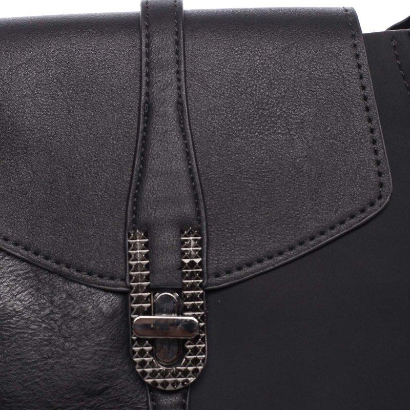 Elegantní dámská crossbody kabelka Lauren, černá