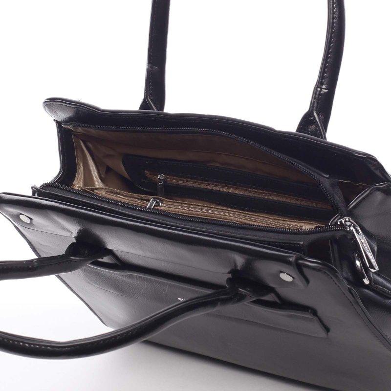 Společenská dámská kabelka Chloe, černá