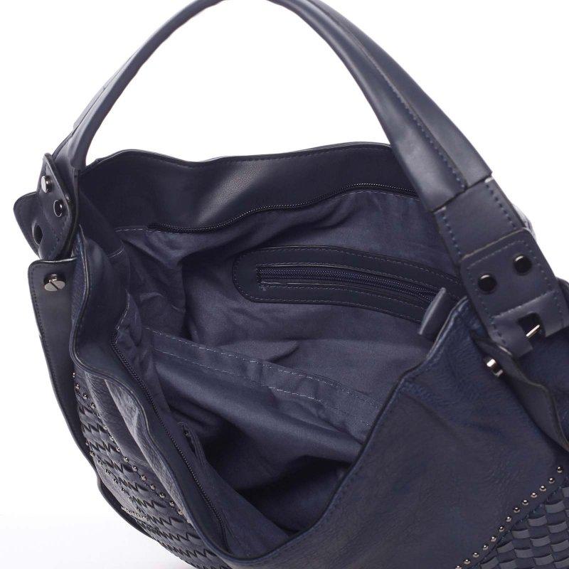 Měkká dámská kabelka Holly, modrá