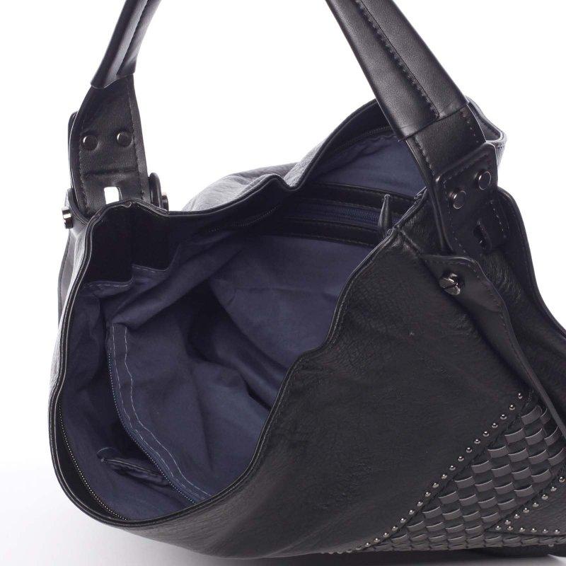 Měkká dámská kabelka Holly, černá
