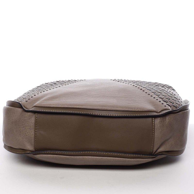 Měkká dámská kabelka Holly, krémová