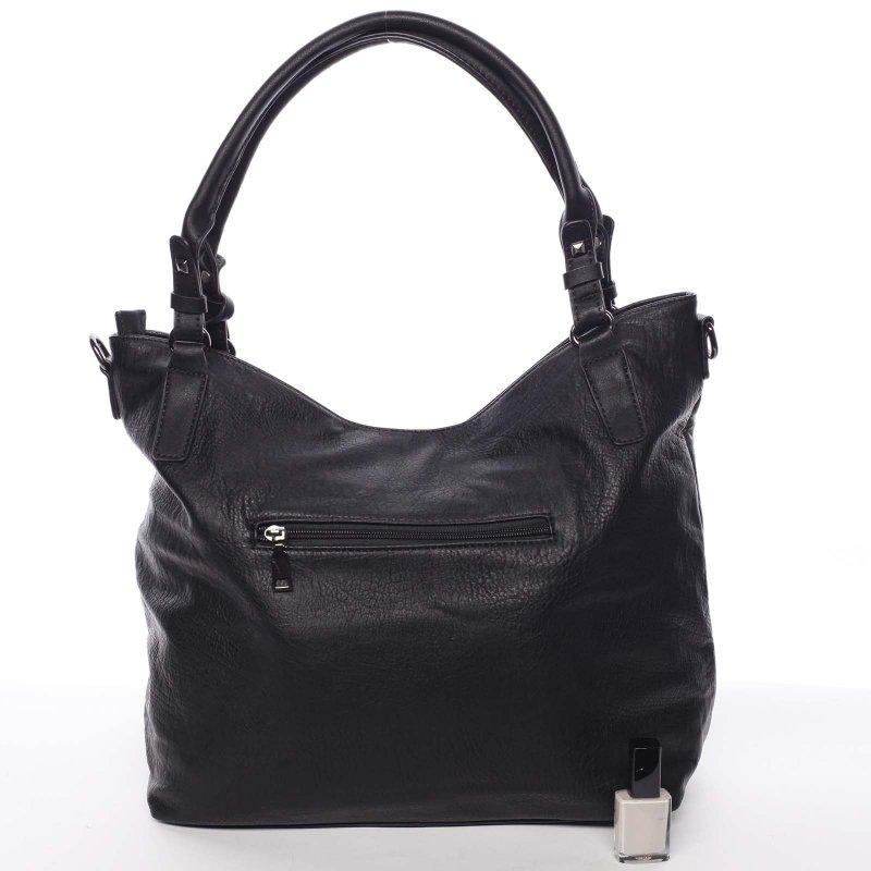 Černá dámská kabelka do ruky Laura