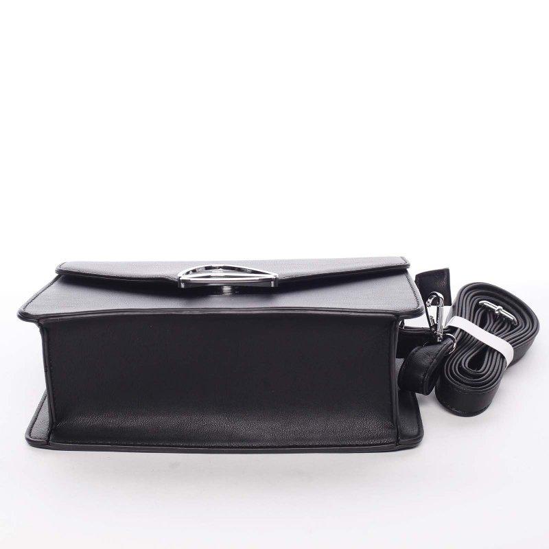 Společenská dámská crossbody kabelka Valerie, černá