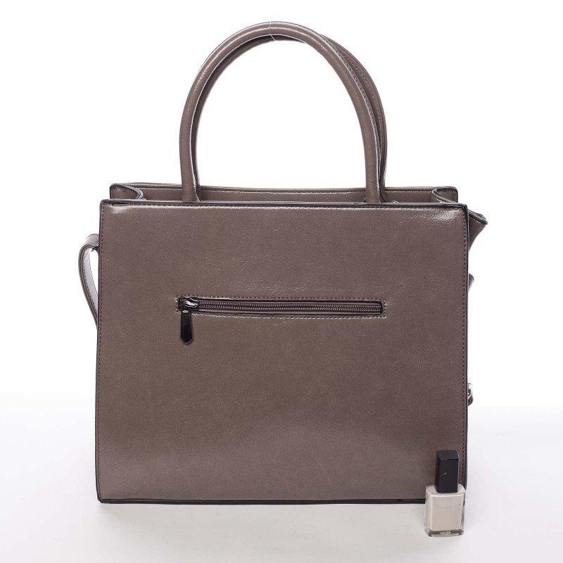 Trendy dámská kabelka přes rameno Erica, krémová
