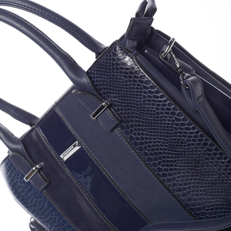 Luxusní dámská kabelka Wendy, modrá