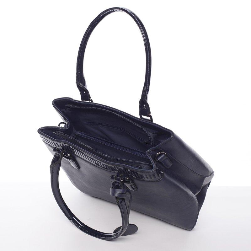 Moderní dámská kabelka Kornel, modrá