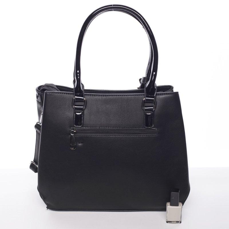 Moderní dámská kabelka Kornel, černá