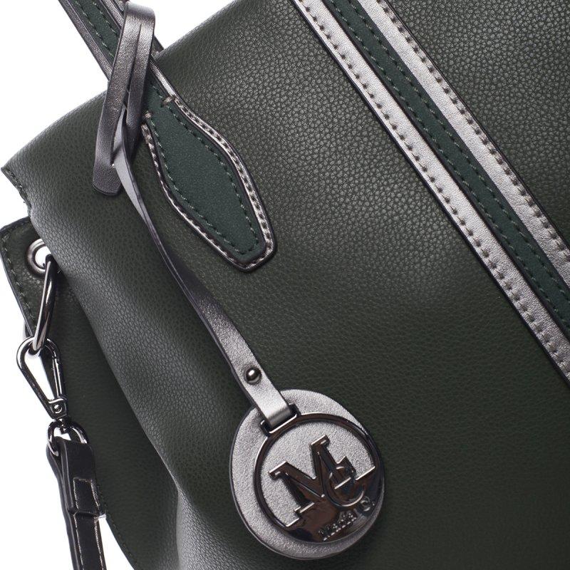 Trendy dámská kabelka Selena, zelená