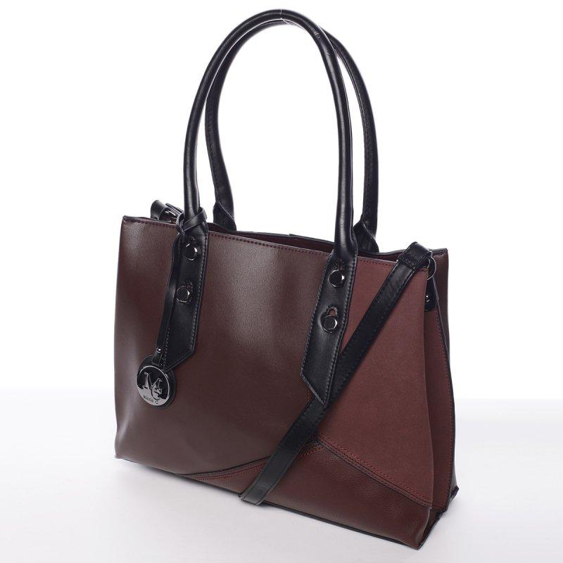 Extravagantní dámská kabelka Dara, vínově červená