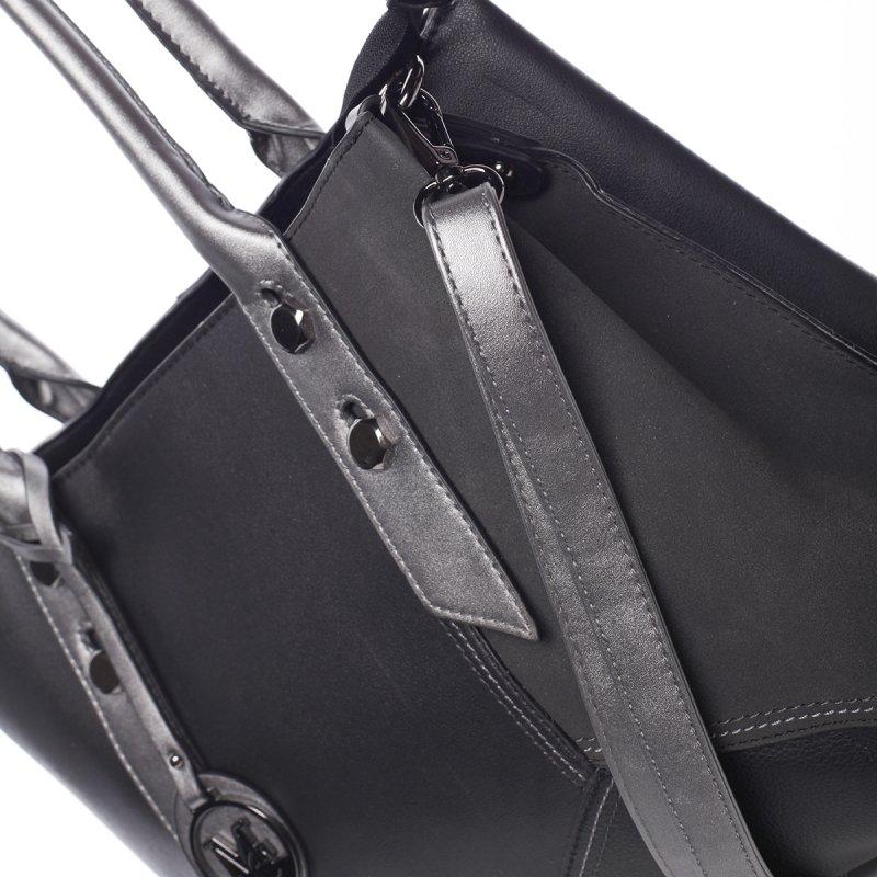 Extravagantní dámská kabelka Dara, černá