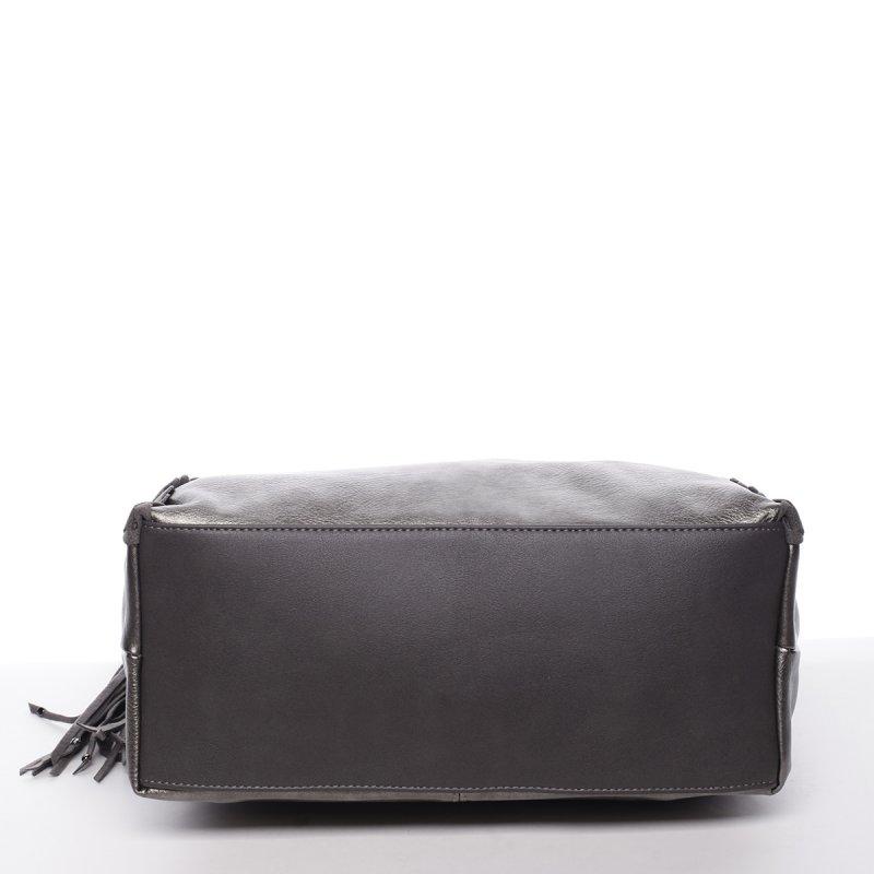 Originální dámská kabelka Bianca, šedá