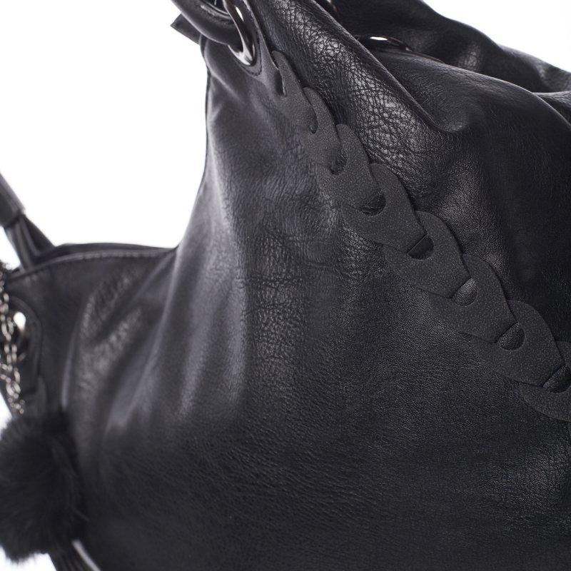 Originální dámská kabelka Bianca, černá