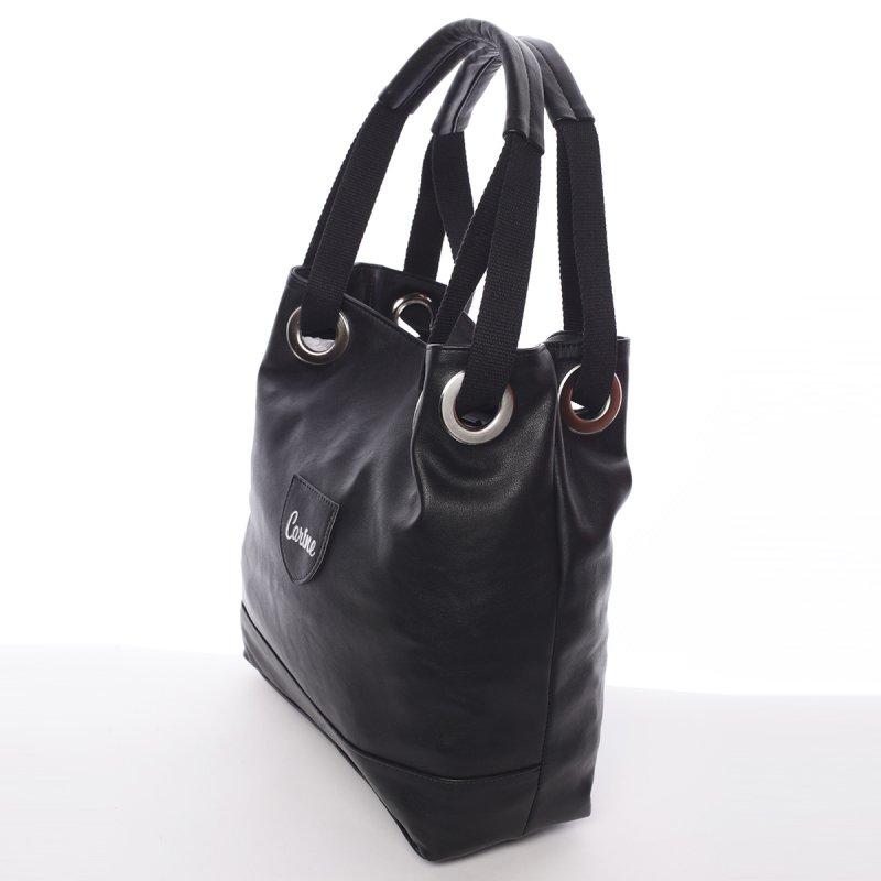 Dámská kabelka přes rameno Ariela, černá
