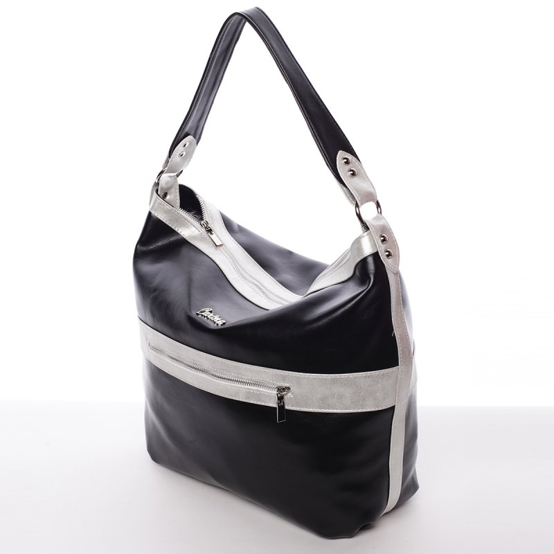 Černá, dámská kabelka Azaela