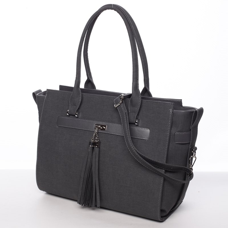 Stylová dámská kabelka Alessia, šedá