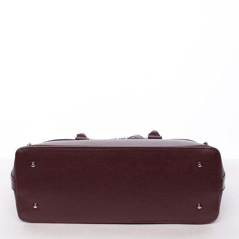 Luxusní kabelka do ruky Monique, bordó