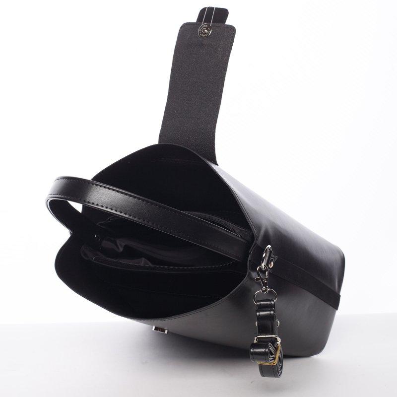 Lehoučká dámská kabelka Žanet, černá