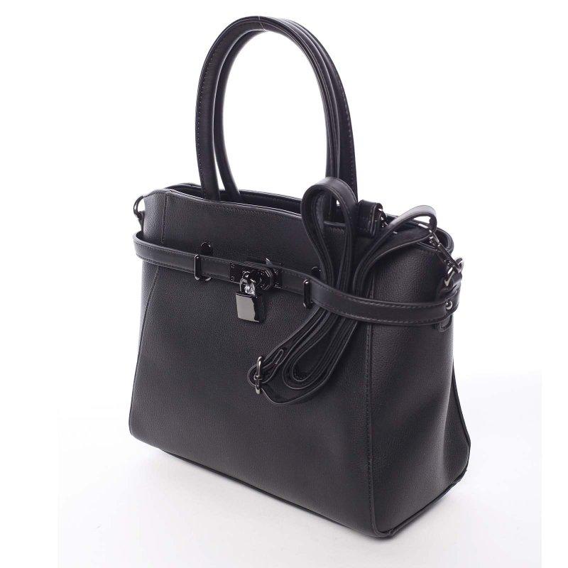 Moderní dámská kabelka do ruky Sarah, černá