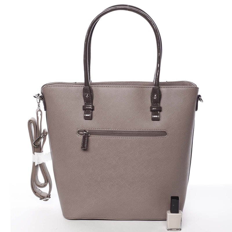 Noblesní dámská kabelka Viktorie, růžová