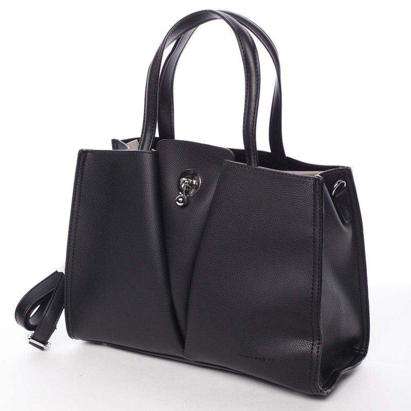 Nadčasová dámská kabelka Natálie, černá