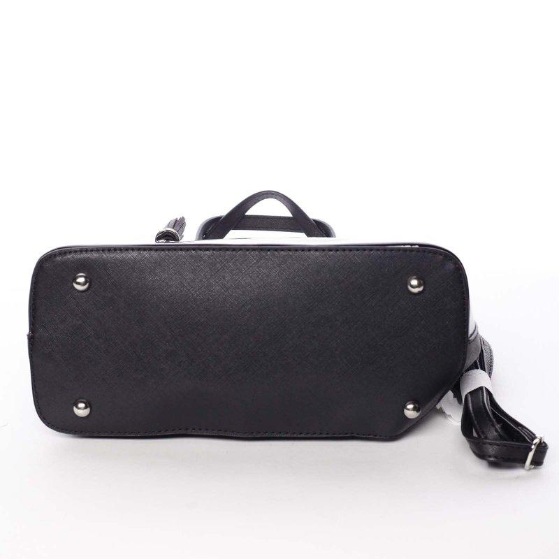 Semišová dámská kabelka Adelaide, černá