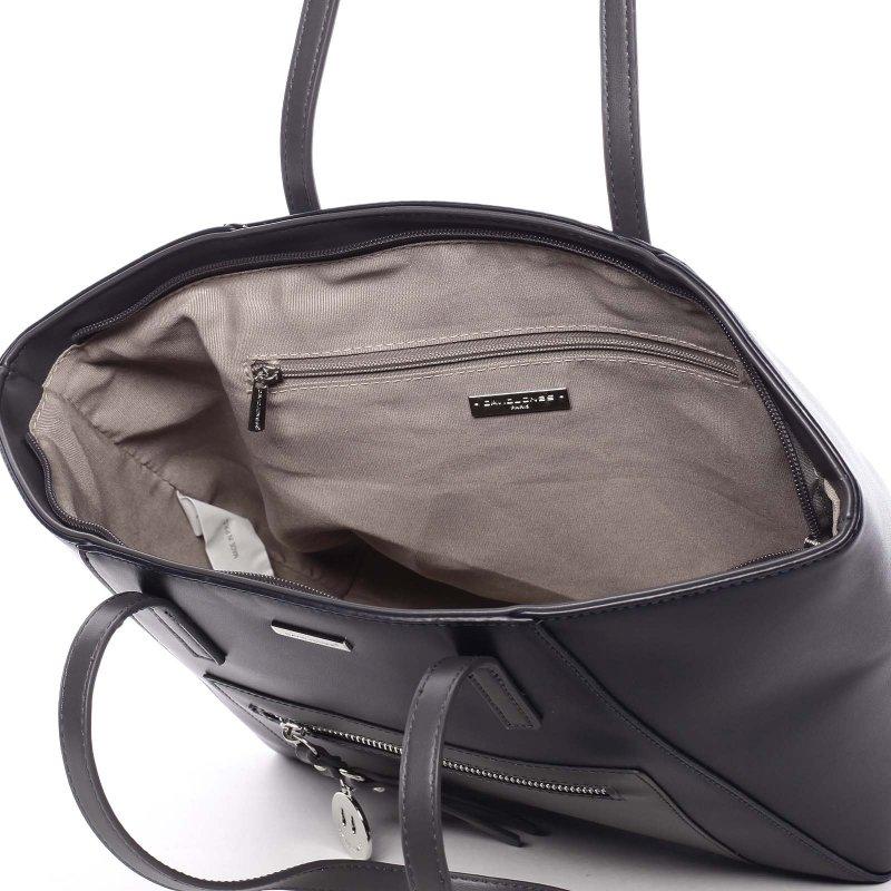 Luxusní kabelka s dlouhým uchem Aurelie, modrá