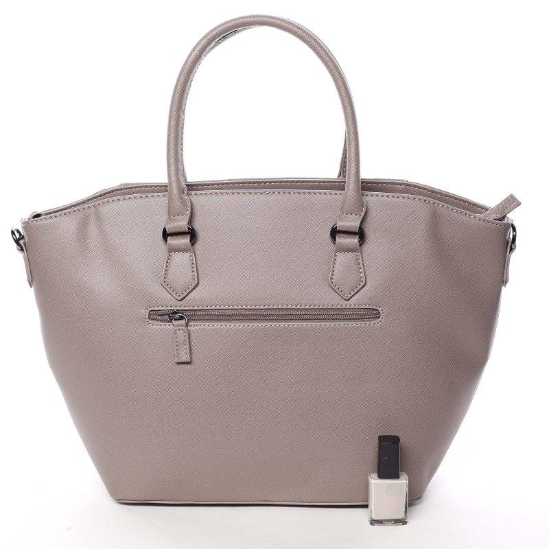 Jedinečná dámská kabelka do ruky Vanessa, růžová