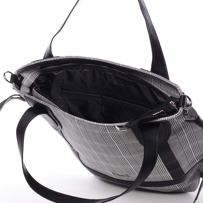 Elegantní dámská kabelka do ruky Fiona, černá