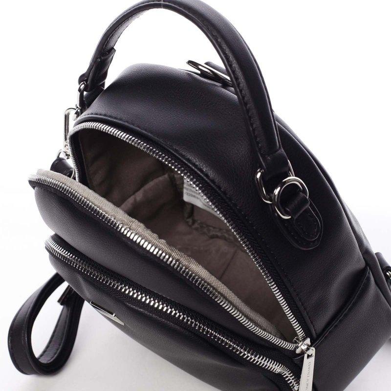 Elegantní dámský batůžek Póla, černý