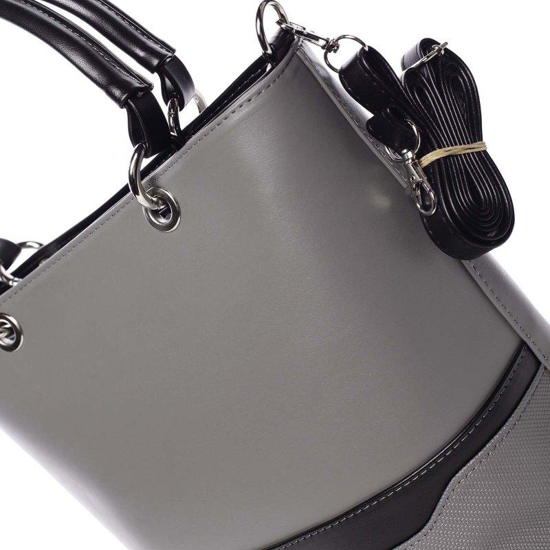Stylová kabelka Ardis, šedá
