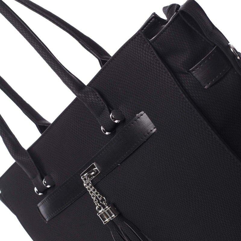 Stylová dámská kabelka Alessia, černá