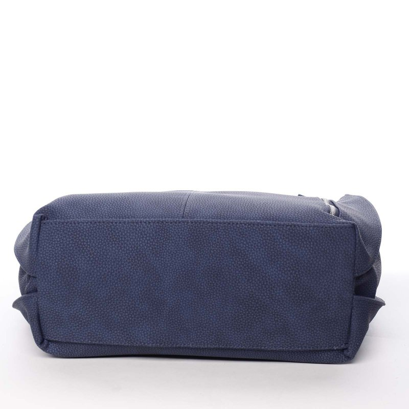 Modrá dámská kabelka do ruky Claudia
