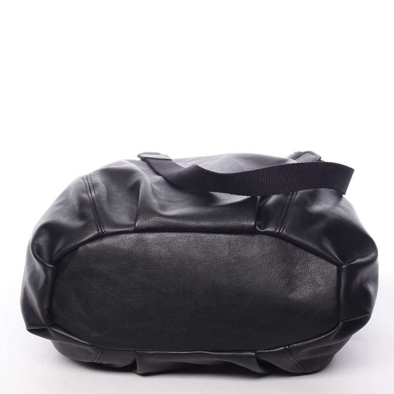 Pohodlná dámská kabelka do ruky Nikoleta, černá