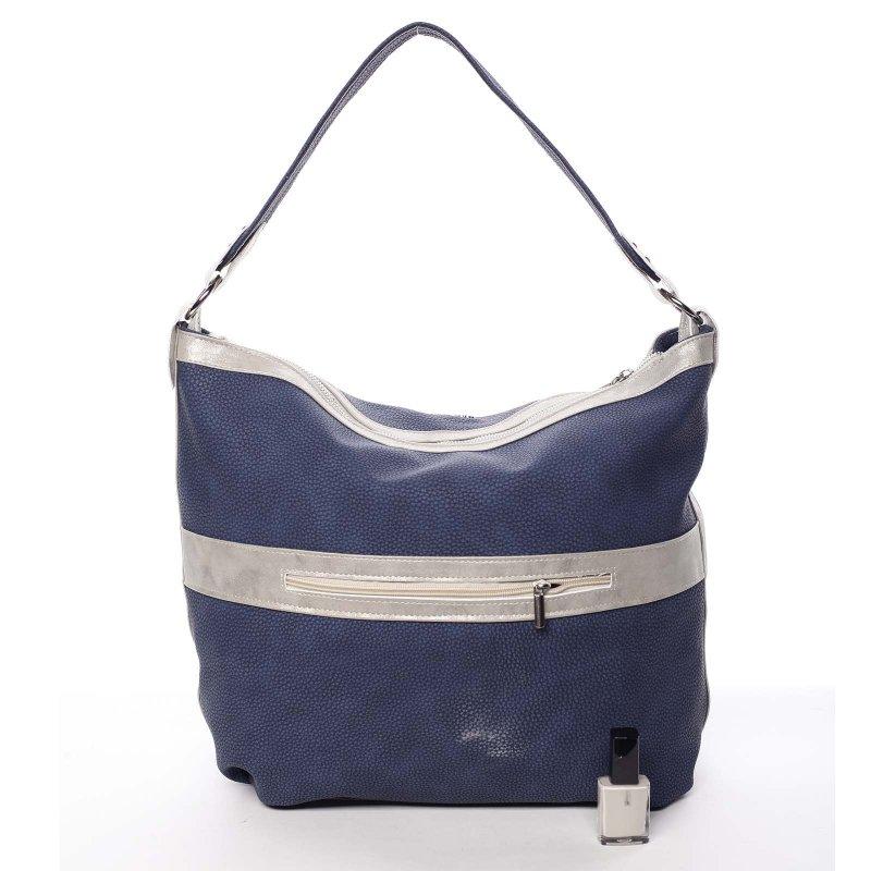 Modrá, dámská kabelka Azaela