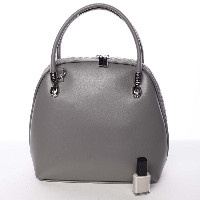 Dámská malá kabelka do ruky Fátima, šedá