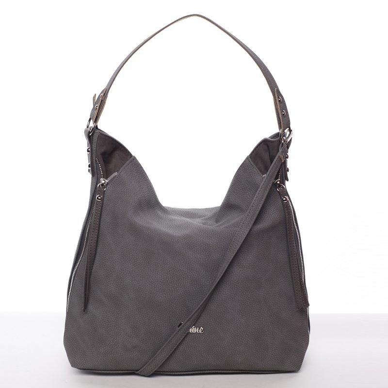 Elegantní dámská kabelka Sarah, šedá
