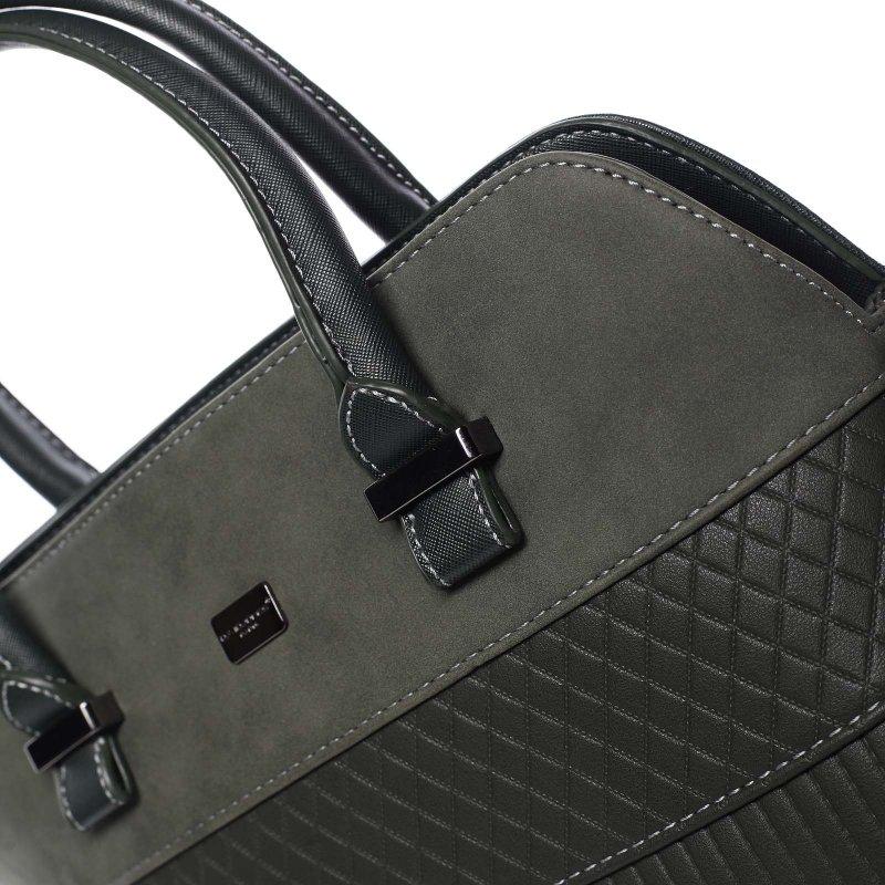Noblesní dámská kabelka Amalia, zelená