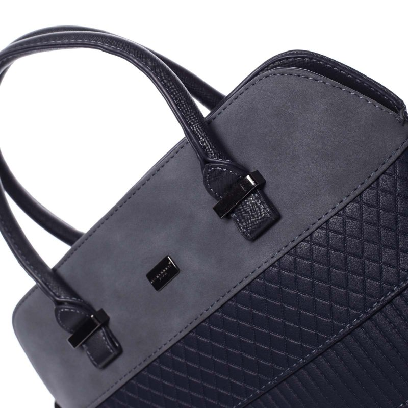 Noblesní dámská kabelka Amalia, modrá