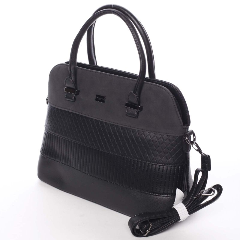 Noblesní dámská kabelka Amalia, černá