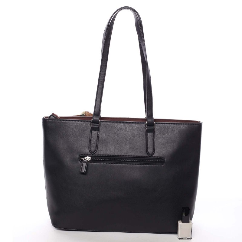 Velká dámská kabelka Diana, černá