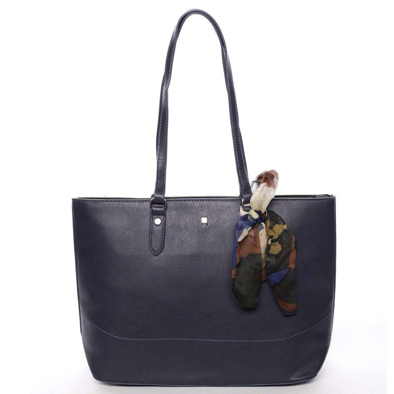 Velká dámská kabelka Diana, modrá