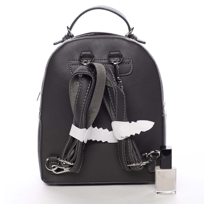 Luxusní dámský batůžek 2v1 Estel, šedý
