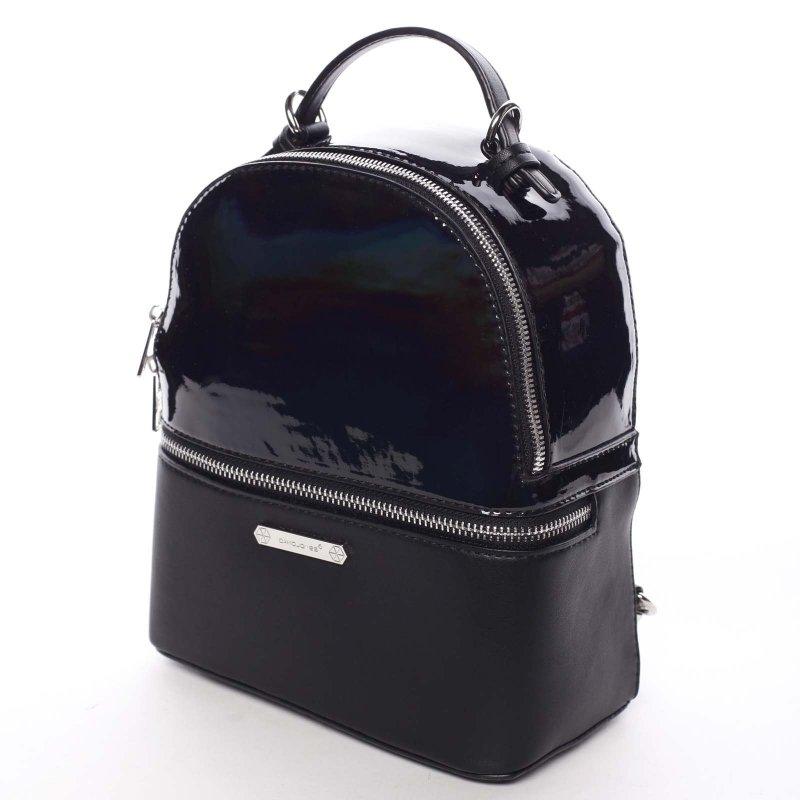 Luxusní dámský batůžek 2v1 Estel, černý