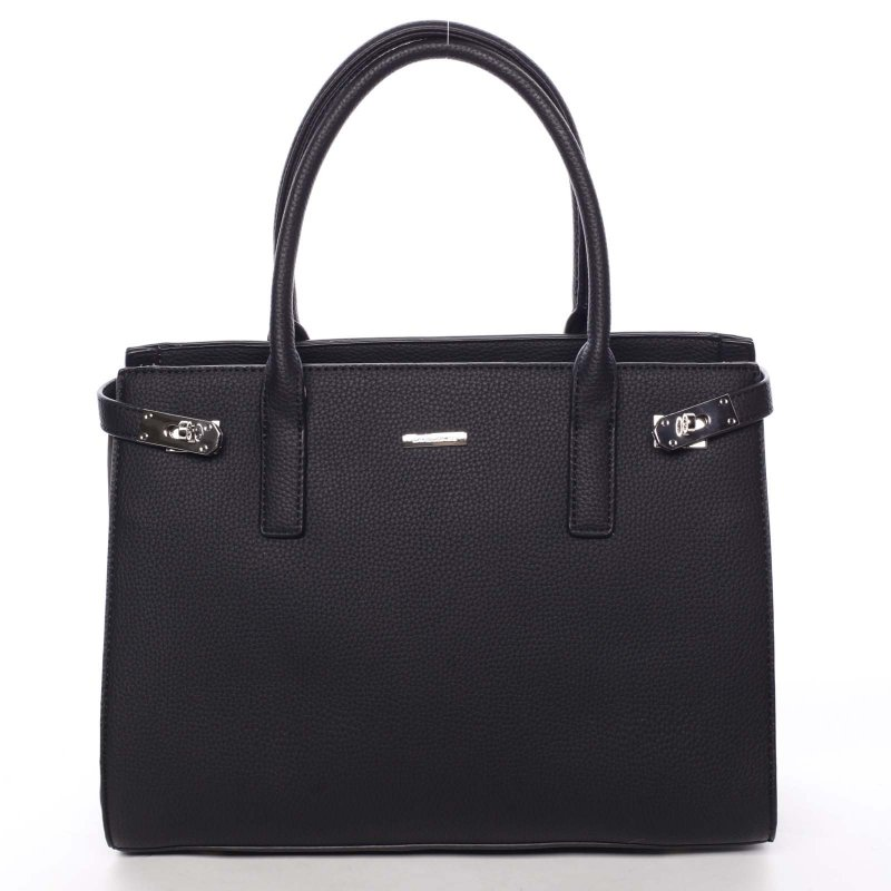 Společenská dámská kabelka Eugenie, černá